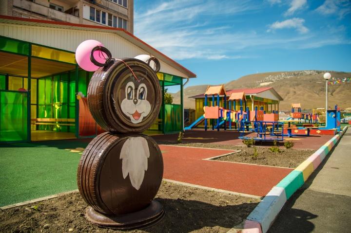 В селе Учкекен открылся самый большой детский сад в Карачаево-Черкесии