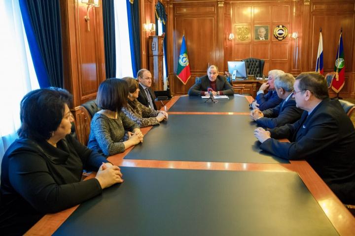 Активисты ОНФ на встрече с главой Карачаево-Черкесии обсудили итоги регионального «Форума действий»